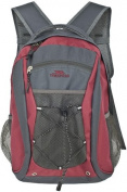 Trespass Neroli Back Pack Sports Bag Beetroot