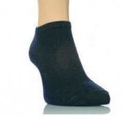 12 Pairs Mens Black Trainer socks size 6-11