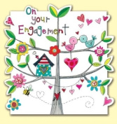 On Your Engagement Love Birds Card
