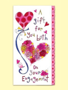 Rachel Ellen Wedding Engagement Money Wallet Card