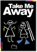 Take Me Away Card - Chalks Designer Range - Take Me Away. - CK015