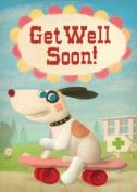 Get Well Soon Greetings Card - By Stephen Mackey