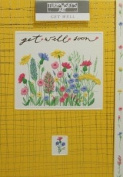 Bargain Giftz - Get Well Card - Turnowsky Art - with Cream Envelope