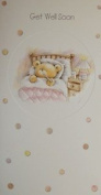 Bargain Giftz - Get Well Soon Card With Cream Envelope