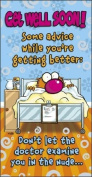 Forget Me Not Get Well Soon Humour Greetings Card 21cm x 11cm Code 225922-1