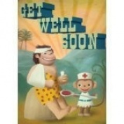 Get well soon Card 120mm x 170mm by Stephen Mackey