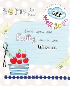 Paper Salad Get Well Soon Card