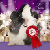 """Guinea Pig Well Done Card """"The Best"""""""