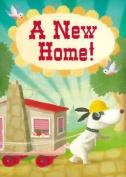 A New Home, Skateboard Dog, Greetings Card
