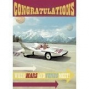 congratulations mars and venus bc126 - Greeting Card by Max Hernn