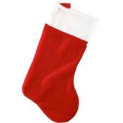 Super Giant Plush Tradional Velvet Christmas / Xmas Stocking 60cm x 35cm