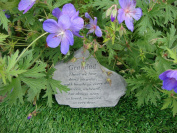 Grandad Memorial Garden Stone Plaque Grave Marker Ornament