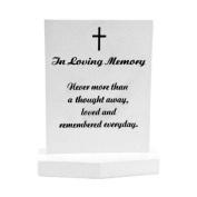 Landon Tyler 22.5 cm 'In Loving Memory' Grave Stone