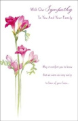 With Our Sympathy, Sympathy Greetings Card