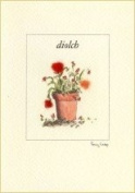 Penny Lindop Designs - Handmade Welsh Greeting Card - Thank You Card