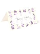 Tartan & Zebra 10 Table place cards with pineapples print