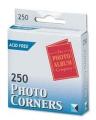 Brand New. Photo Album Company Photo Corners Self-Adhesive Vinyl Clear Ref PC2500 [Pack 250]