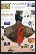 Dorling Kindersley Volcanoes Poster - 91.5 x 61cms