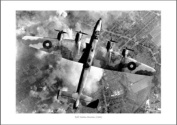 RAF Halifax Bomber 1940 World War 2 Aviation Photo Memorabilia