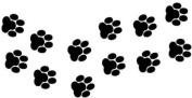 Cat/Dog Paw Prints Vinyl Stickers decals, car, window, van