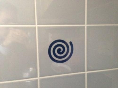20 X Swirls Tile Transfer Decal Stickers Kitchen Or Bathroom Black |  PrestoMall - Wall Sticker