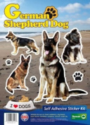 Dogs Self Adhesive Sticker Kit - German Shepherd