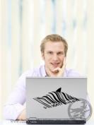Banksy Barcode Shark Wall / Car / Laptop Sticker 10cm x 23cm