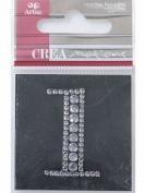 Diamond Crystal Number 1 Craft Embellishment