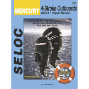 Seloc Marine Manual for Mercury and Mariner, All 4-Stroke Engines 2005-11