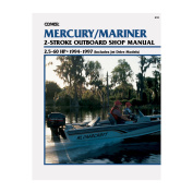 Clymer Mercury/Mariner 2.5-60 HP Two-Stroke Outboards (Includes Jet Drive Models)