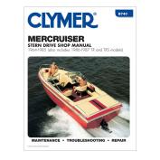 Clymer MerCruiser Stern Drives 1964-1985 w/TR & TRS 1986-1987