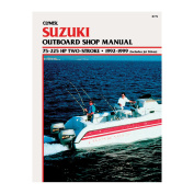 Clymer Suzuki 75-225 HP 2-Stroke Outboards (Includes Jet Drives)