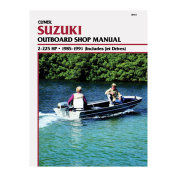 Clymer Suzuki 2-225 HP Outboards (Includes Jet Drives)