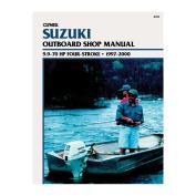 Clymer Suzuki 9.9-70 HP Four-Stroke Outboards
