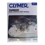 Clymer Yanmar Diesel Inboard Shop Manual - One, Two & Three Cylinder Engines
