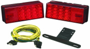 "Wesbar 3"" x 8"" Waterproof LED Over 80"" Trailer Light Kit"