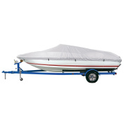 Dallas Manufacturing Co. Reflective Polyester Boat Cover E - 20-22' V-Hull Runabouts - Beam Width to 250cm