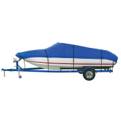 Dallas Manufacturing Co. Polyester Boat Cover B 14'-16' V-Hull Tri-Hull Runabouts & Alum. Bass Boats - Beam Width to 230cm
