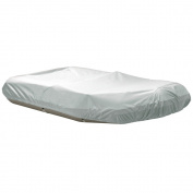 """Dallas Manufacturing Co. Polyester Inflatable Boat Cover D - Fits Up to 12'6"""", Beam to 190cm"""