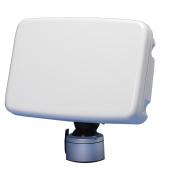 Scanpod Slim Deck Pod - Up to 30cm Display - White