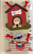 Dog House And Cat Basket Embellishment Scrapbooking Card Topper