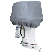 Attwood Road Ready & #153; Cotton Heavy-Duty Canvas Cover f/Outboard Motor Hood 50-115HP