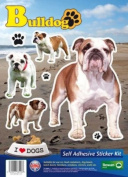 Dogs Self Adhesive Sticker Kit - Boxer