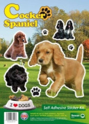Dogs Self Adhesive Sticker Kit - Cocker Spaniel