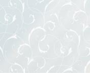 Fablon 67.5 cm x 1.5 m Roll Scroll Flower Window Static Cling