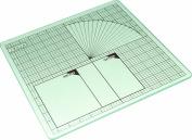 Tempered Glass Mat-30cm X30cm Measuring Grid