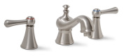Premier 120580LF Sonoma Lead-Free Widespread Two-Handle Lavatory Faucet, Brushed Nickel
