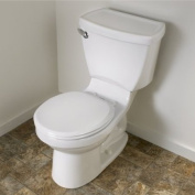 American Standard Seats Everclean Elongated Closed Front Toilet Seat in Bone 5284.016.021