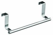 Premier Housewares Over Door Hanging Rail, 23 cm, Stainless Steel