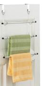 Zeller 18400 Over-Door Towel Rail 56x47.5 cm Chrome